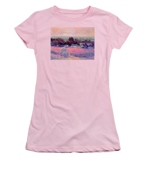 Inv Blend 10 Monet Women's T-Shirt (Junior Cut) by David Bridburg