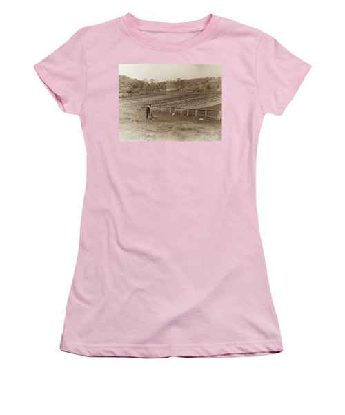 Women's T-Shirt (Athletic Fit) featuring the photograph Inwood 1906 by Cole Thompson