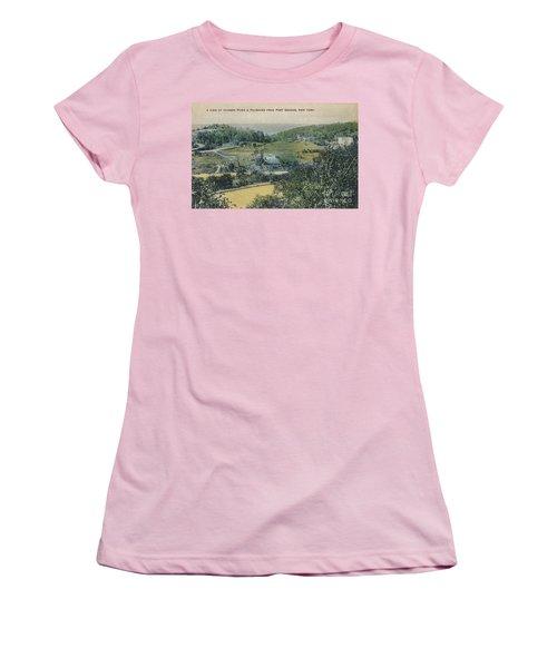 Inwood Postcard Women's T-Shirt (Junior Cut) by Cole Thompson