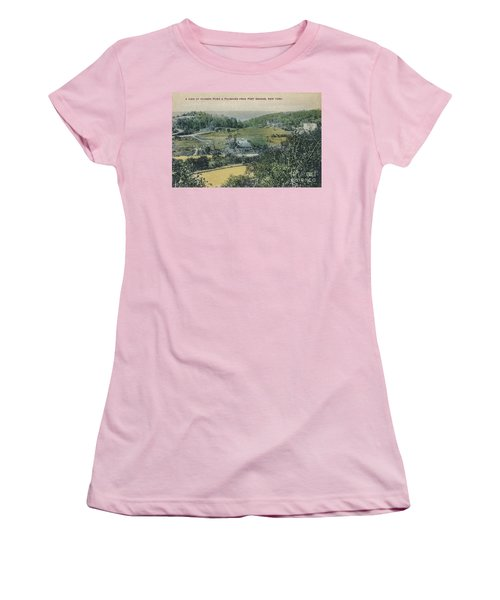 Inwood Postcard Women's T-Shirt (Athletic Fit)