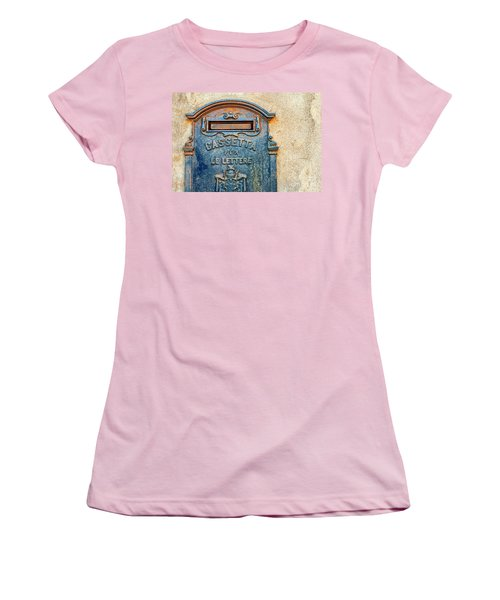 Italian Mailbox Women's T-Shirt (Junior Cut)