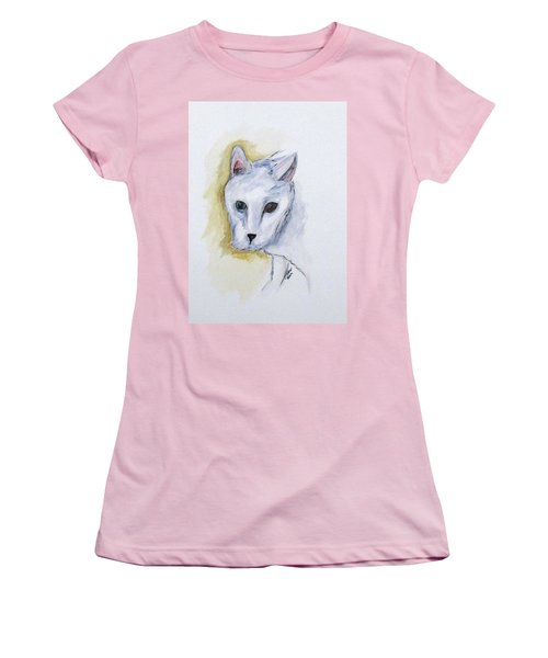 Jade The Cat Women's T-Shirt (Athletic Fit)