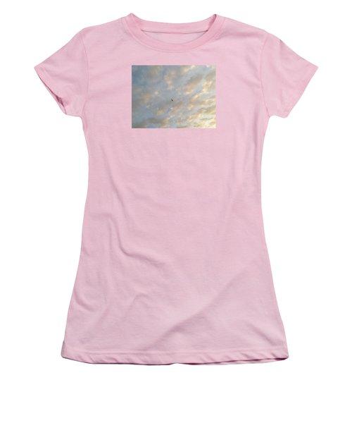 Jonathan Livingston Seagull Women's T-Shirt (Junior Cut) by LeeAnn Kendall