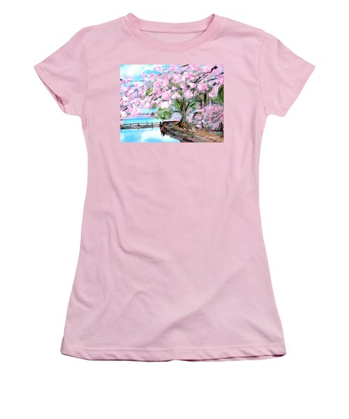 Joy Of Spring. For Sale Art Prints And Cards Women's T-Shirt (Athletic Fit)