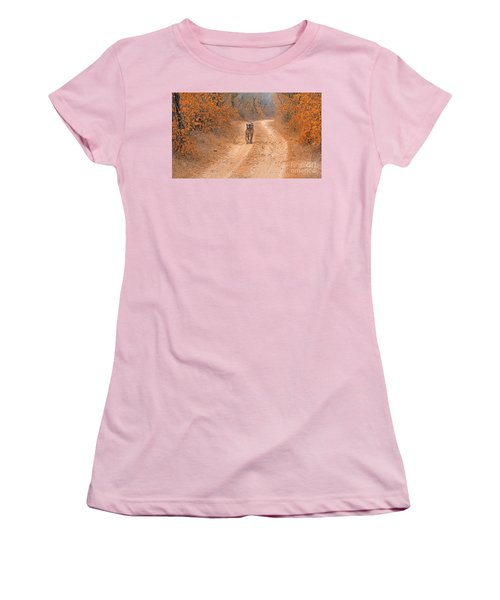 Keep Walking Women's T-Shirt (Junior Cut) by Pravine Chester