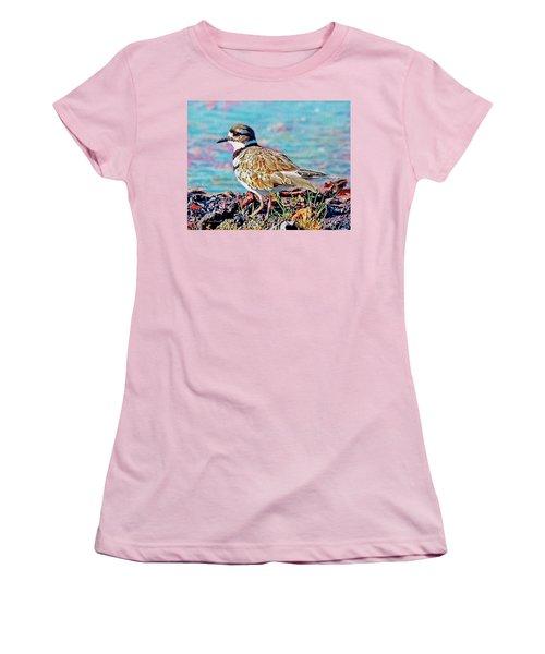 Killdeer  Women's T-Shirt (Junior Cut) by Ken Everett