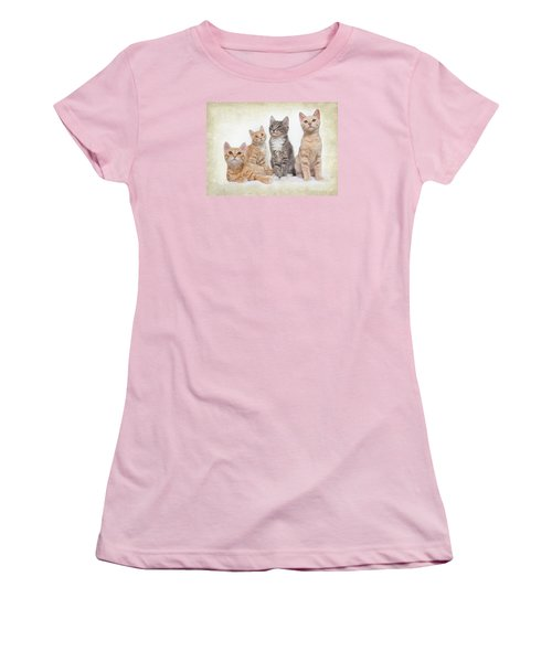 Kittens Women's T-Shirt (Athletic Fit)