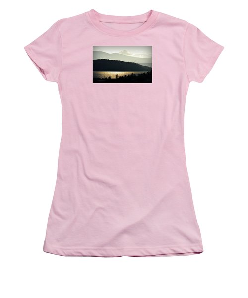 Lake Glimmer Women's T-Shirt (Athletic Fit)