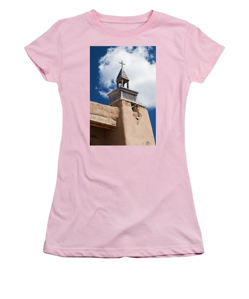 Las Trampas Church Women's T-Shirt (Athletic Fit)