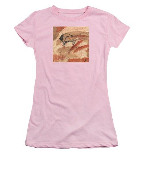 Lascaux Women's T-Shirt (Junior Cut) by Phil Strang