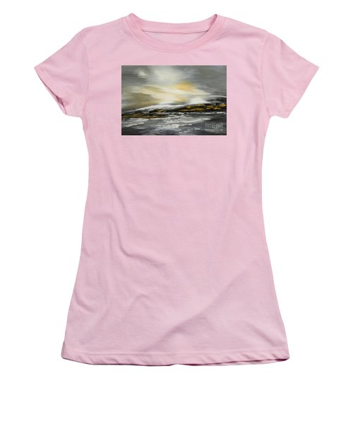 Lashed To Windward Women's T-Shirt (Junior Cut) by Tatiana Iliina