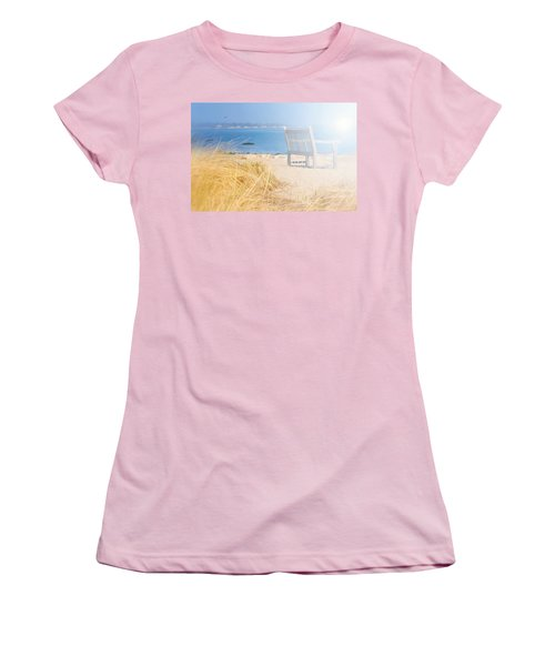 Last Breadth Of Summer Women's T-Shirt (Junior Cut) by Diana Angstadt