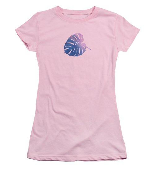 Leaf Abstract 1 Women's T-Shirt (Junior Cut) by Art Spectrum