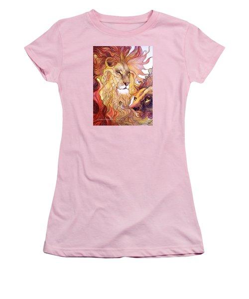 Lion King Women's T-Shirt (Athletic Fit)