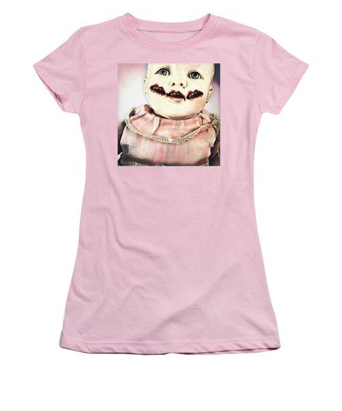Little Monster Women's T-Shirt (Athletic Fit)