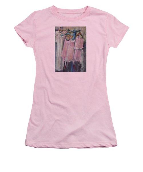 Long Ago Lingerie  Women's T-Shirt (Junior Cut)