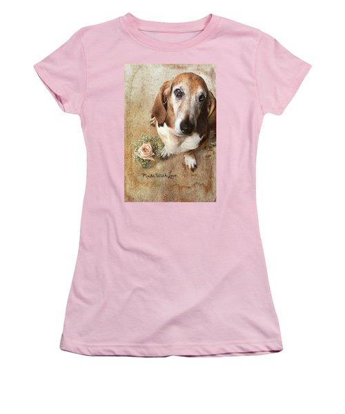 Made With Love II Women's T-Shirt (Junior Cut) by Joan Bertucci