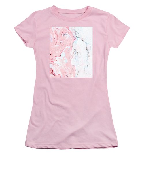 Marble Love Women's T-Shirt (Athletic Fit)