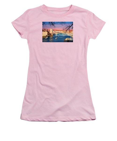 Marseille Women's T-Shirt (Athletic Fit)
