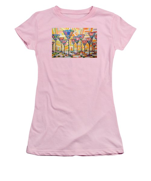 Martini Hour Women's T-Shirt (Athletic Fit)