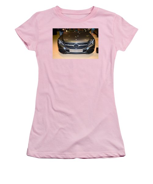Mercedes Cabriolet Women's T-Shirt (Athletic Fit)