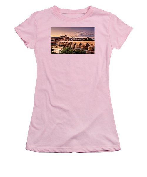 Mezquita In The Evening Women's T-Shirt (Junior Cut) by Marion McCristall
