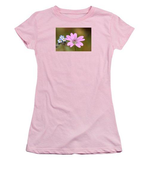 Minature World Women's T-Shirt (Junior Cut) by Richard Patmore