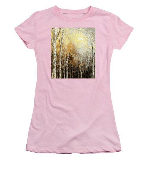Mindful Melodies Women's T-Shirt (Junior Cut) by Tatiana Iliina