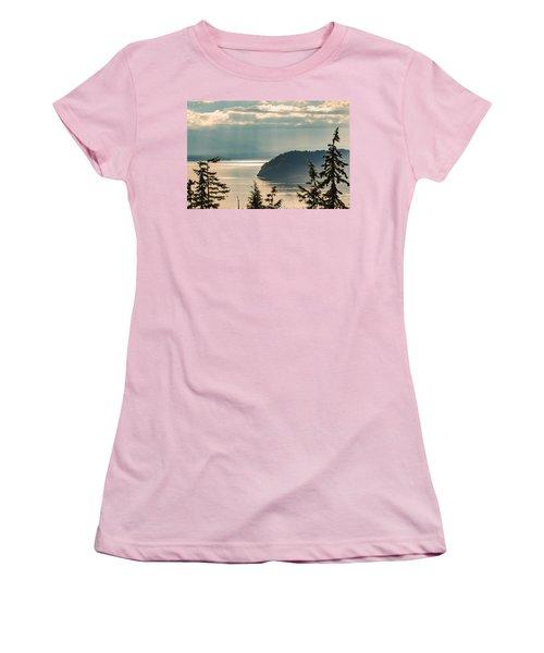 Misty Island Women's T-Shirt (Athletic Fit)