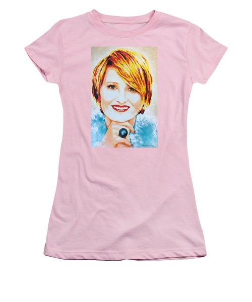 Monica Women's T-Shirt (Junior Cut) by Victor Minca
