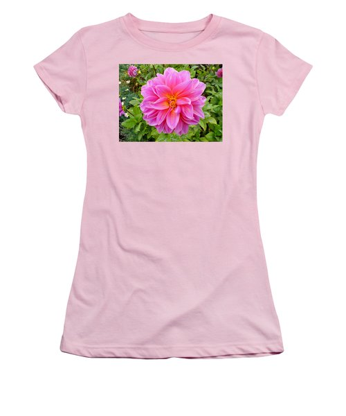 Monterey Pink Women's T-Shirt (Athletic Fit)