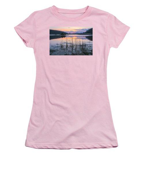 Morning Calmness Women's T-Shirt (Athletic Fit)
