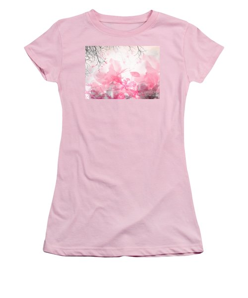Morning Chirp Women's T-Shirt (Junior Cut) by Trilby Cole