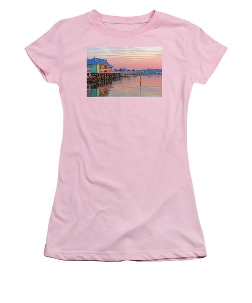 Morning Peace Women's T-Shirt (Athletic Fit)