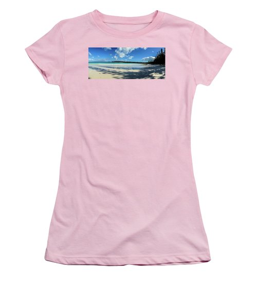 Morning Shadows Ile Des Pins Women's T-Shirt (Athletic Fit)