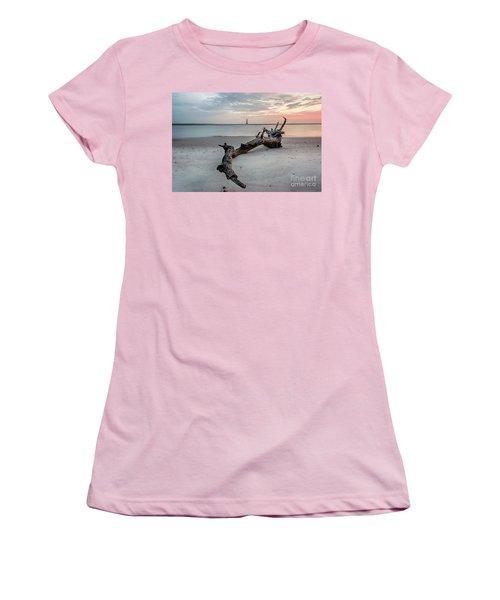 Morris Island Women's T-Shirt (Junior Cut) by Robert Loe