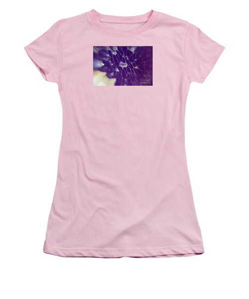 Women's T-Shirt (Junior Cut) featuring the photograph Nature Abstract by Yumi Johnson