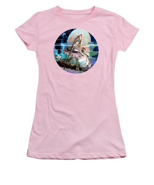 Neptune Nymph 3 Women's T-Shirt (Junior Cut) by Robert G Kernodle