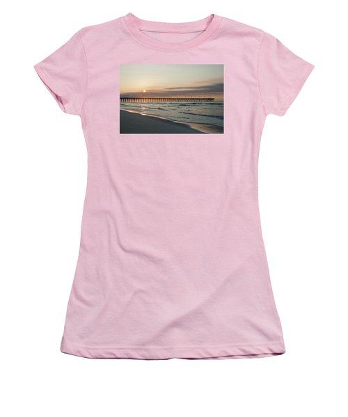 North Carolina Sunrise Women's T-Shirt (Athletic Fit)