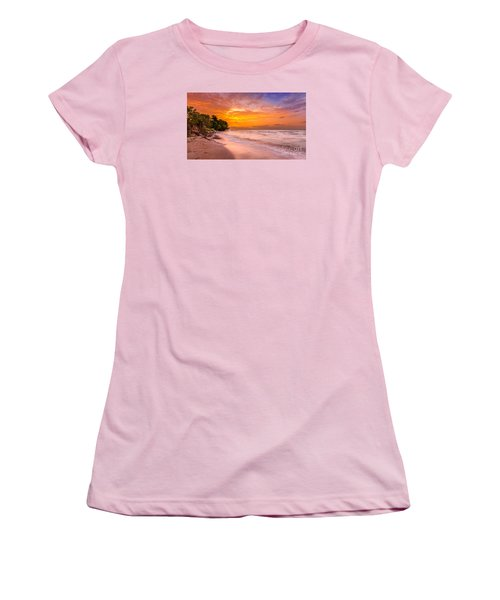 North Point Sunrise Women's T-Shirt (Athletic Fit)