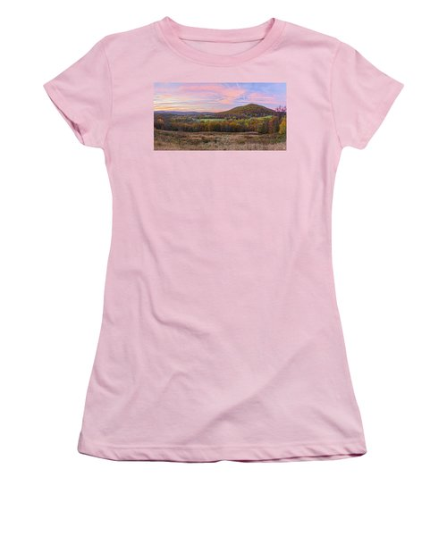 November Glowing Sky Women's T-Shirt (Athletic Fit)