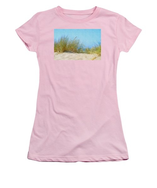 Ocean Beach Dunes Women's T-Shirt (Athletic Fit)