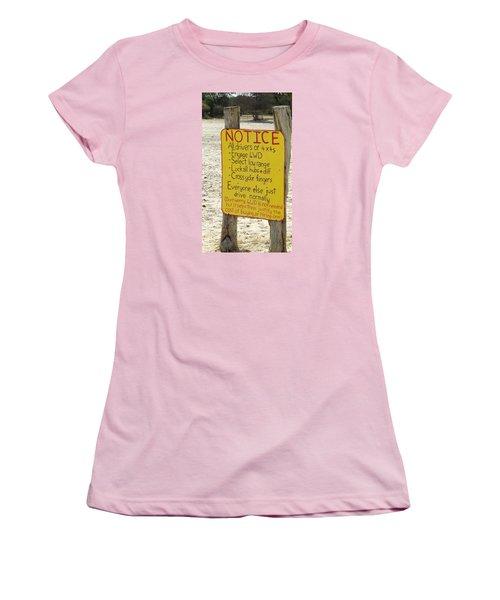 Okavango Humor Women's T-Shirt (Athletic Fit)