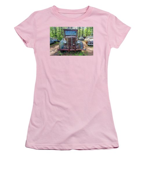 Old Car Smile Women's T-Shirt (Athletic Fit)