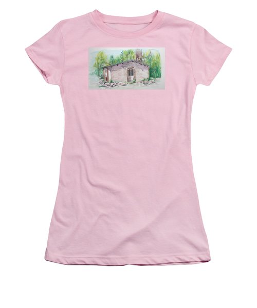 Old New Mexico House Women's T-Shirt (Athletic Fit)