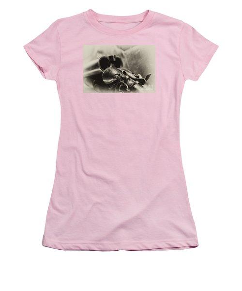 Old Shotgun Women's T-Shirt (Junior Cut) by Wilma  Birdwell