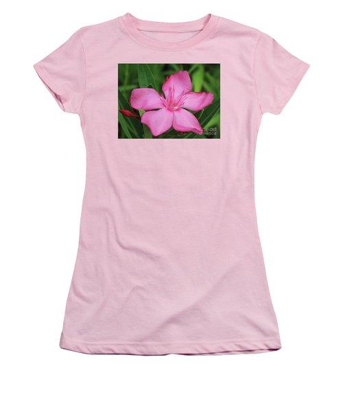 Oleander Professor Parlatore 2 Women's T-Shirt (Junior Cut) by Wilhelm Hufnagl