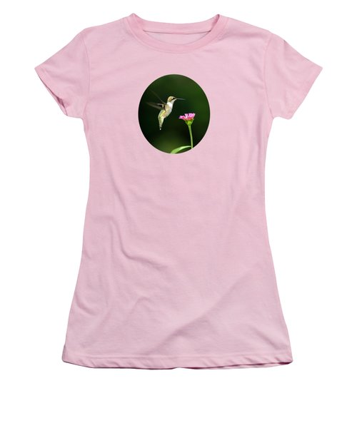 One Hummingbird Women's T-Shirt (Athletic Fit)