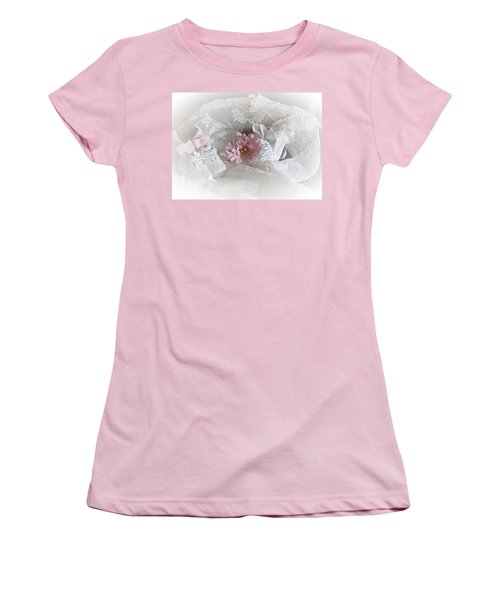 Women's T-Shirt (Junior Cut) featuring the photograph Our Little Girl Is All Grown Up by Sherry Hallemeier