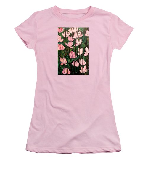 Out In Open Women's T-Shirt (Junior Cut) by Lisa Aerts